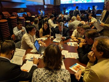 Mr. Somboon participated in Asia Clean Energy Forum 2018 held by ADB in Manila