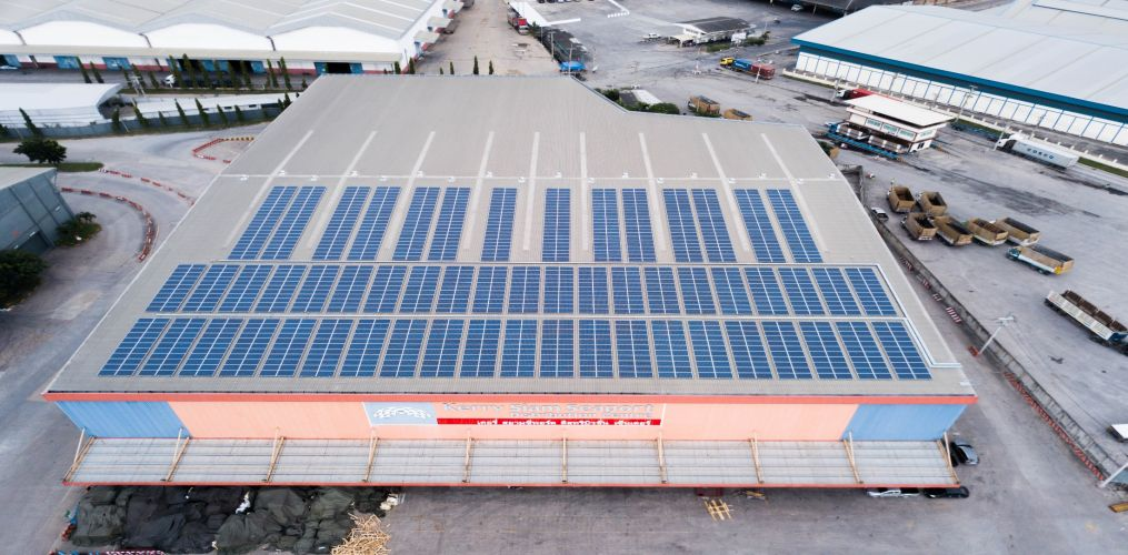 Impact Solar เซ็นสัญญาซื้อขายไฟฉบับแรกกับ Kerry Siam Seaport