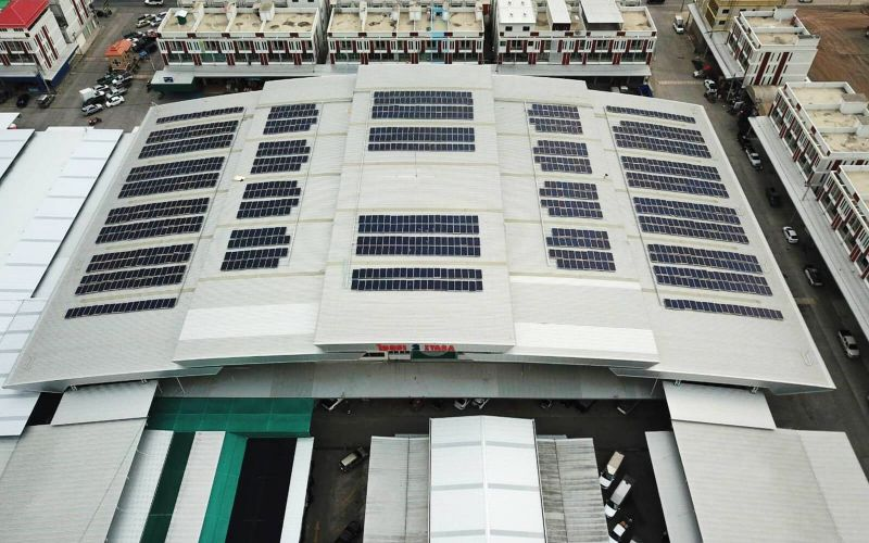 Impact Solar signed contract with 2 cold storages in Talaadthai to install 600 kW solar rooftop system