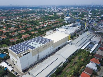 Impact Solar is ready to sell electricity to SB Design Square Ratchapruek branch