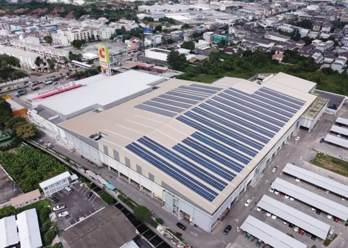 Impact Solar collaborates with Big C to expand 27 MW in capacity, the largest installation in Thailand