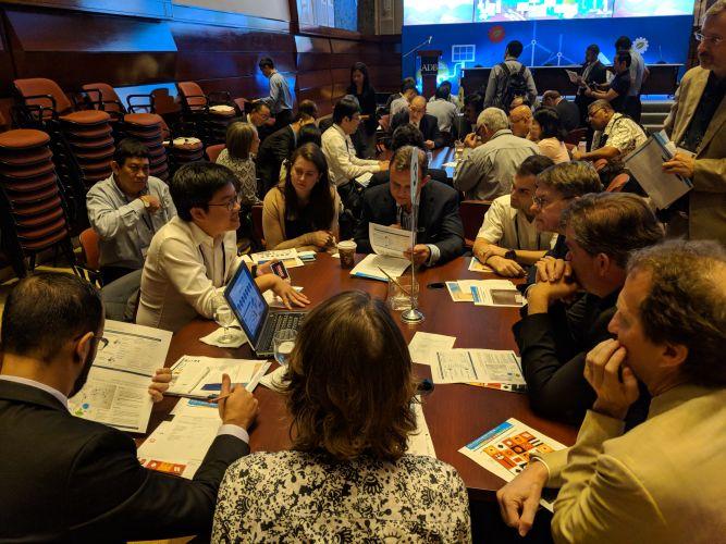 คุณสมบูรณ์ร่วมงาน Asia Clean Energy Forum 2018 จัดโดย ADB ที่สำนักงานใหญ่ เมืองมะนิลา ประเทศฟิลิปปินส์
