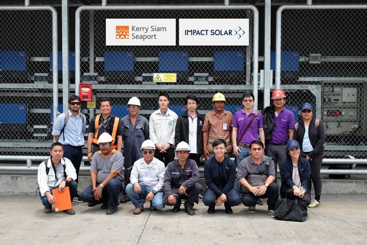 Impact Solar is ready to sell electricity to Kerry Siam Seaport (KSSP)