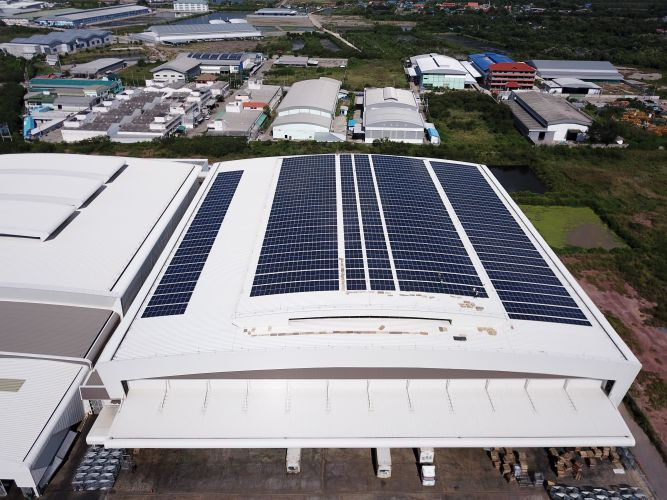 Impact Solar จับมือ Thai Union ติดตั้งโซล่าร์รูฟท็อปประเดิม 1 MW แรกที่โรงงานไทยยูเนี่ยน มหาชัย